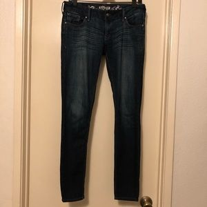 Express Jeans - EXPRESS low rise skinny jeans
